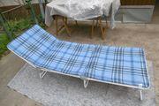 Gartenliege Dreibeinliege Sonnenliege Liege Camping