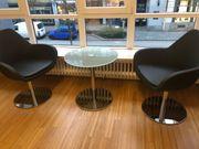 2 hochwertige Lounge-Sessel von profim