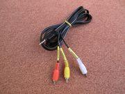 Videoadapter - Klinkenstecker auf Chinch-Stecker