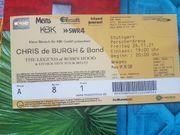 Konzertkarte Chris de Burgh Band
