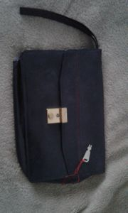 Herren Handtasche mit schlüssel