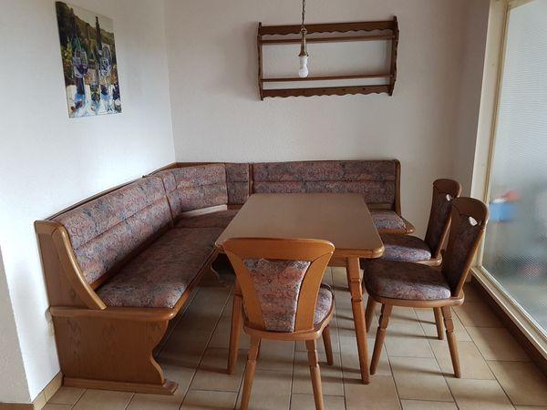 Komplettes Eßzimmer in Eiche gut