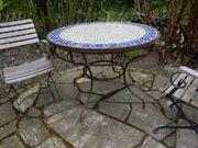 Tisch Gartentisch marokkanisch Durchm 1Meter