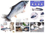 Spielzeug Fisch für Katze Hund