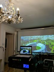 Projectiondesign F80 BARCO 8500 LUMENS