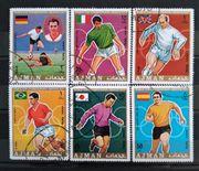 Ajman 1970 WM Fußball Worldcup