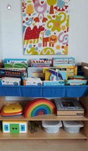 Tolles Bücherregal JAKO-O blau