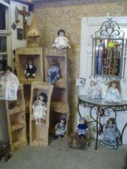 10 schöne Puppen mit Porzellanköpfen -