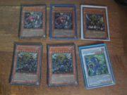 YUGIOH Krieger Karten Sammlungsauflösung
