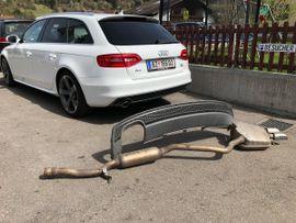 Original Audi A4 2.0 TDI Auspuffanlage