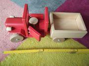Spielzeug-Kipplader aus Holz