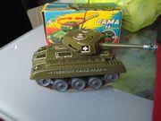 Blechspielzeug Panzer Gama Blechpanzer von
