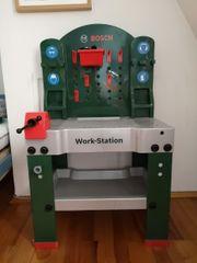 Bosch Kinderwerkbank mit Zubehör