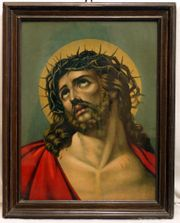 Messias Bild gerahmt KBild