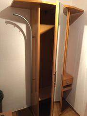 Garderobenschrank Buche 112x196x45cm