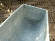 Zinkbadewanne Solarbadewanne 160 x 72
