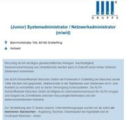 Junior Systemadministrator Netzwerkadministrator m w