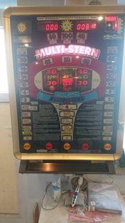Geldspielautomat Multi Stern