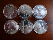 10EUR Münzen Satz 2009