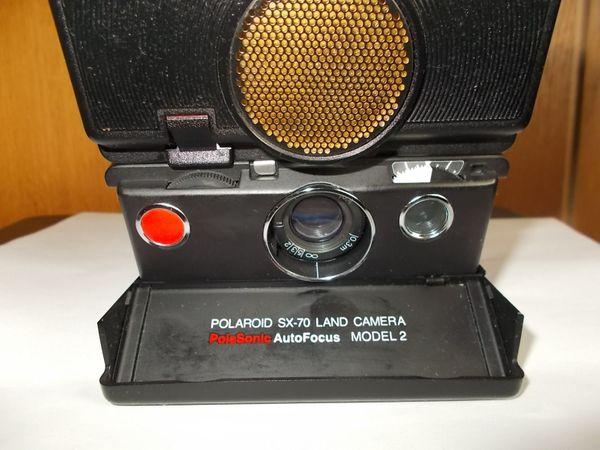 Polaroid SX 70 PolaSonic Autofocus Model 2 Land Sofortbildkamera
