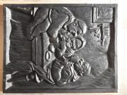 Kamin Ofen Platte Guss Bild
