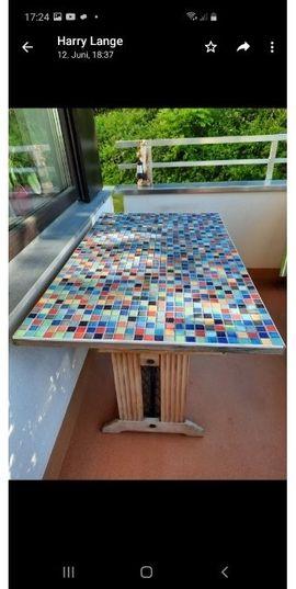 Gartenmöbel - Balkontisch Pfaff Nähmaschinen Tisch mit