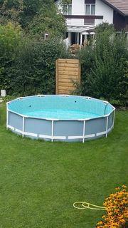 Pool 366 x 76 komplett