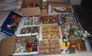 Weihnachts-Dekoration Christbaum-Schmuck Advents-Lichter etc