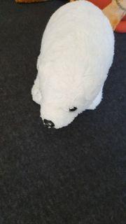 neu Kuscheltier Eisbär neu