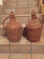 2 Stk Korbflaschen