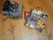 Playstation 1 mit tollen Spielen