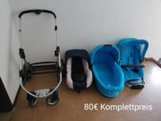 Kombi-Set Kinderwagen Marke Moon