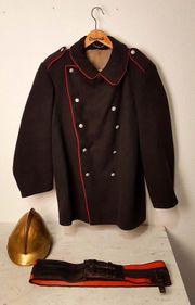 Uniform Helm Kupfer Bayern antik