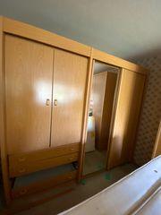 Komplett Schlafzimmer Echt Holz zu