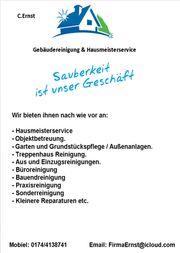 Gebäudereinigung Hausmeister Service Grünflächen Pflege