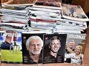 Fußballmagazine Stadionhefte