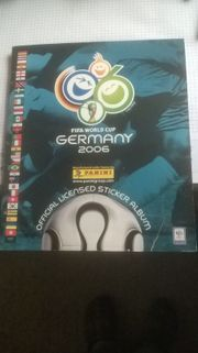Panini Fußballbilderalbum WM 2006