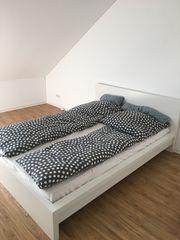 Bett mit Lattenrost