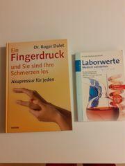 Akupressurbuch und Laborwertebuch