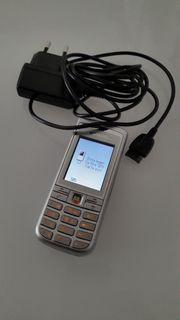 Siemens C75 light silver Handy