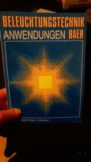 Beleuchtungstechnik Anwendungen Baer Lehrbuch