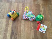 Kleinkinderspielzeug Hubschrauber Buggybuch Musikfrosch TUTUT
