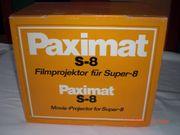 1 Filmprojektor u Zubehör