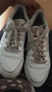 getragene Schuhe reebock