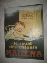 altes Maizena Metallbild le regal