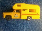 Spielzeug - Camping - Auto - gelb - ca