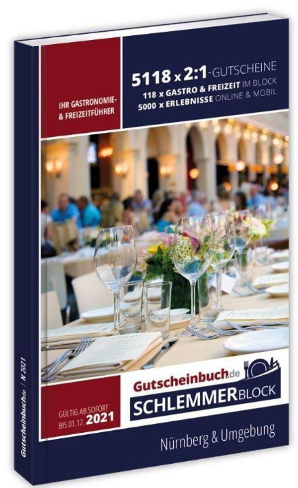 Gutscheinbuch - Schlemmerblock Nürnberg Umgebung 2021