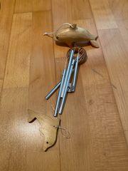 Windspiel Holz Delphine