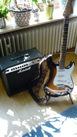 Gitarren/-zubehör - Elekt Gitarre Fender Squier Vintage