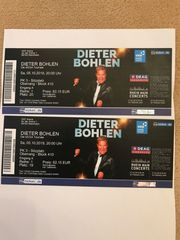 2 Konzertkarten Dieter bohlen in